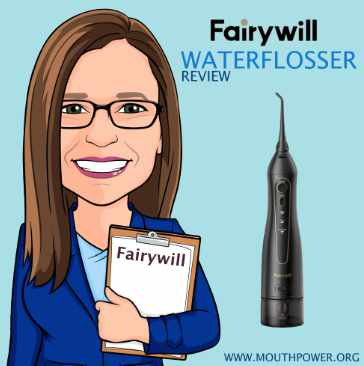 about me Dr lara coseo fairywill water flosser